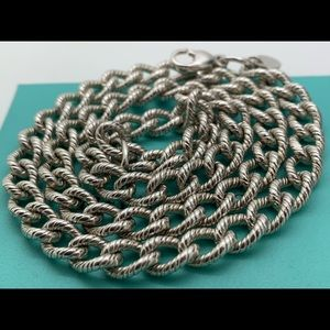 Tiffany & Co.925 Solid Links Necklace 17.5 Inches